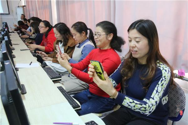 濮阳市实验小学开展教师信息技术应用能力培训活动